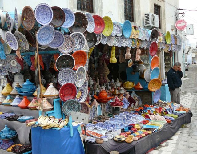 Zdjęcia: Medina, Kairuan, Pamiątki do zabrania, TUNEZJA