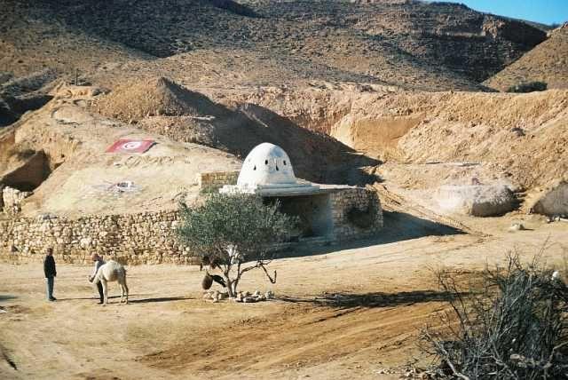 Zdj�cia: gdzie� po drodze, Sahara, TUNEZJA