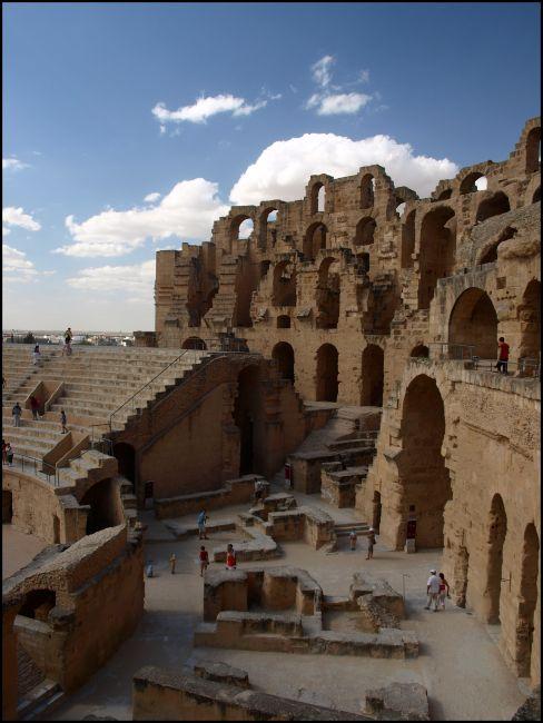 Zdjęcia: Koloseum, El Jem, jeszcze raz kamienie, TUNEZJA