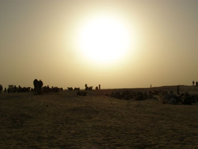 Zdjęcia: Sahara, Tunezja, Karawana, TUNEZJA