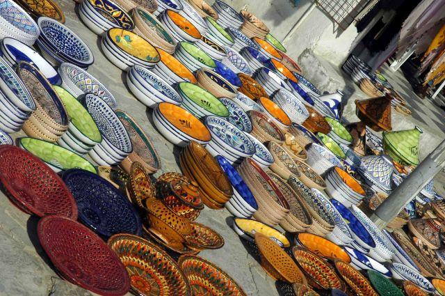 Zdjęcia: sousse, arabska porcelana :), TUNEZJA