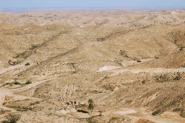 Zdjęcia: matmata, księżycowe krajobrazy, TUNEZJA