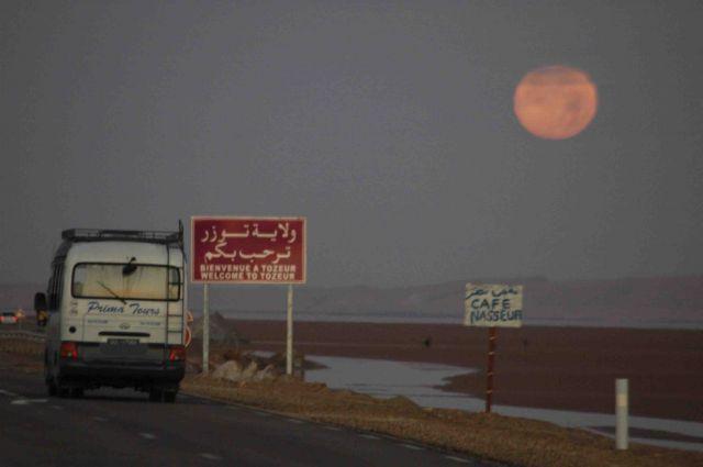 Zdjęcia: touzeur, nad chott el djerid, pdróż po dnie słonego jeziora, TUNEZJA