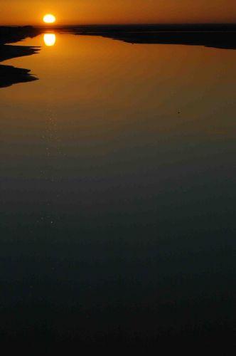 Zdjęcia: touzeur, wschód słońca na chott el djerid, TUNEZJA