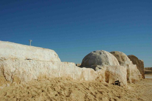 Zdjęcia: gdzieś pod granicą algierska, scenografia Gwiezdnych Wojen 2, TUNEZJA