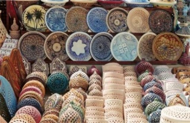 Zdjęcia: Djerba, ceramika, TUNEZJA