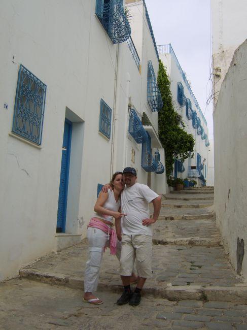 Zdjęcia: gdzies w mieście, sidi bu said, niebiesko białe miasto, TUNEZJA