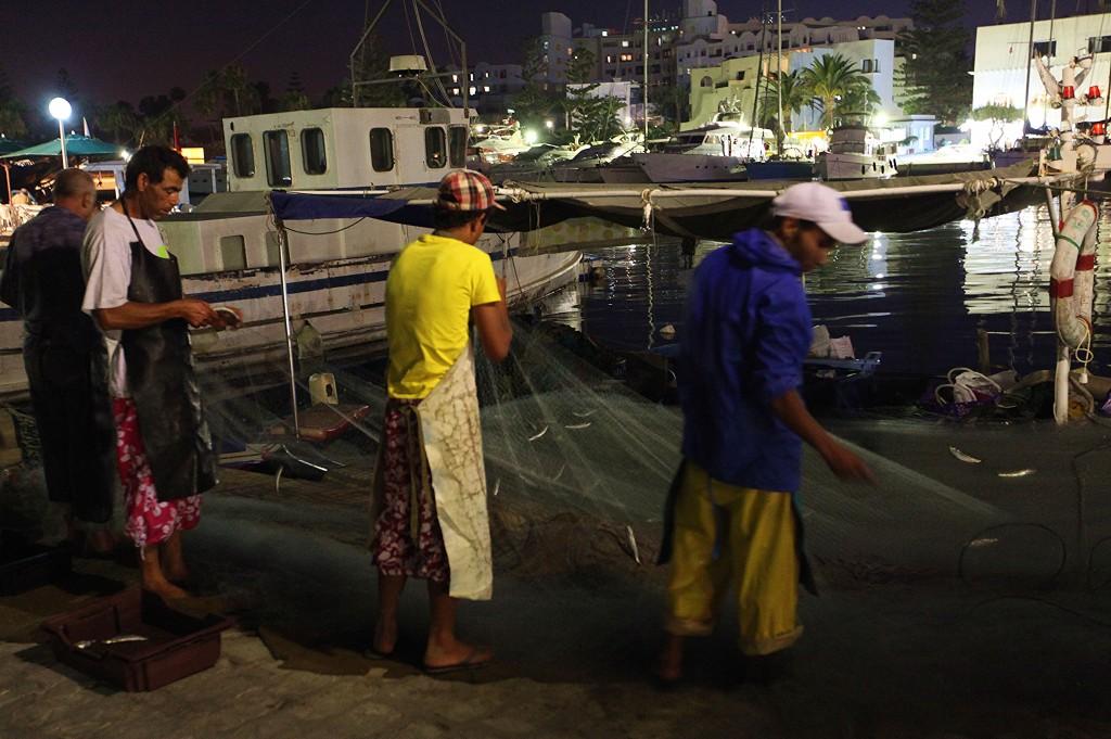 Zdjęcia: Port El Kantaoui, Sahel Tunezyjski, Nocny połów, TUNEZJA