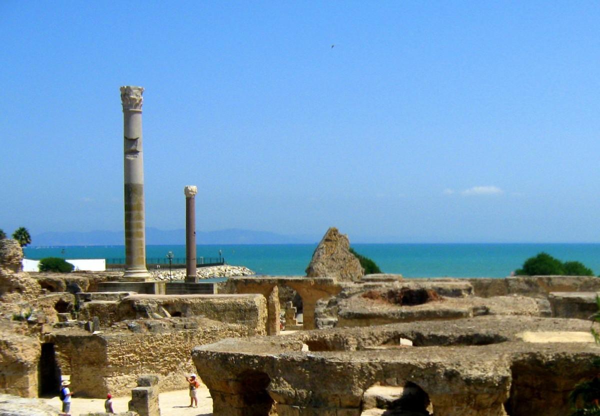 Zdjęcia: okolice Tunisu, Północ, To co zostało z Kartaginy, TUNEZJA
