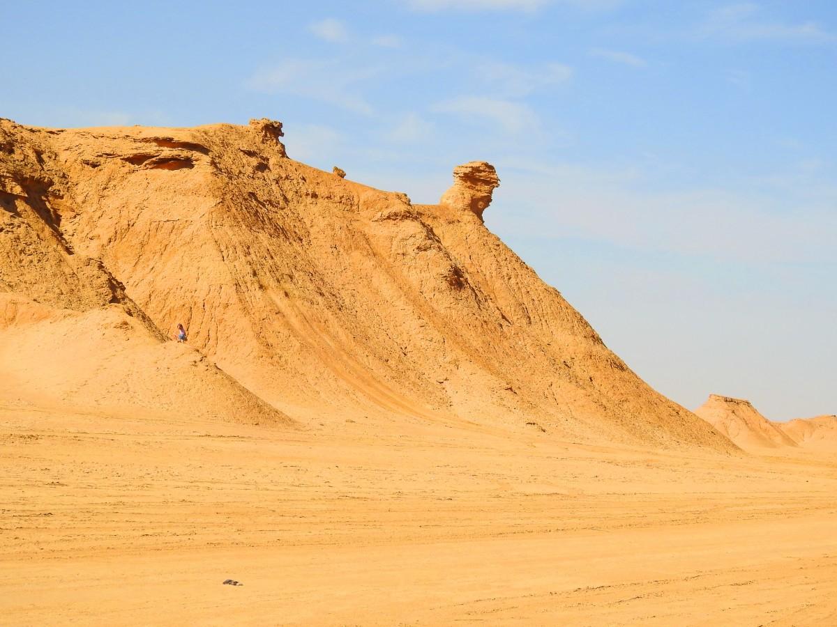 Zdjęcia: pustynia, Tozeur, Góra Wielbłąda, TUNEZJA