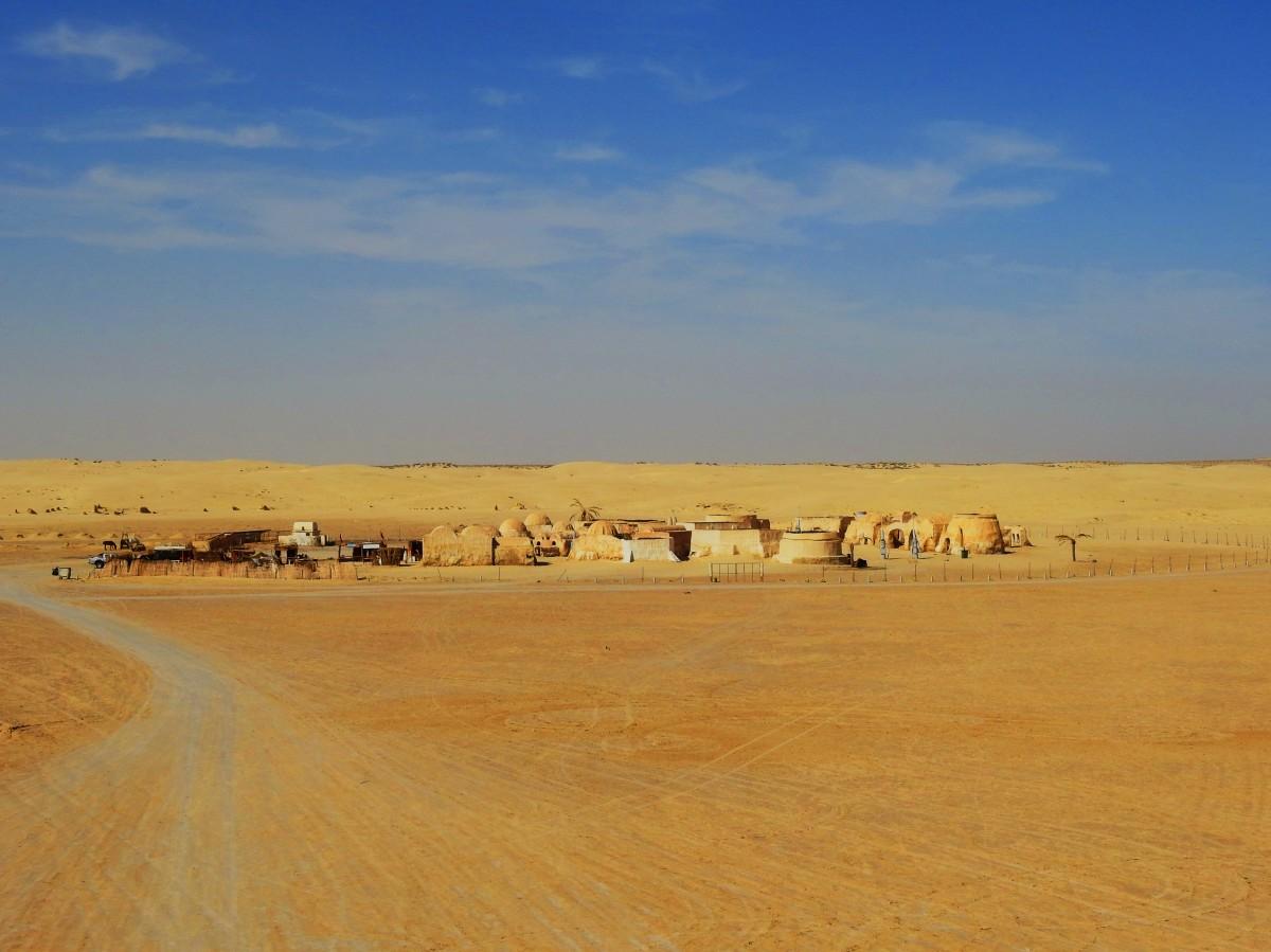 Zdjęcia: pustynia, Tozeur, Star Wars, TUNEZJA