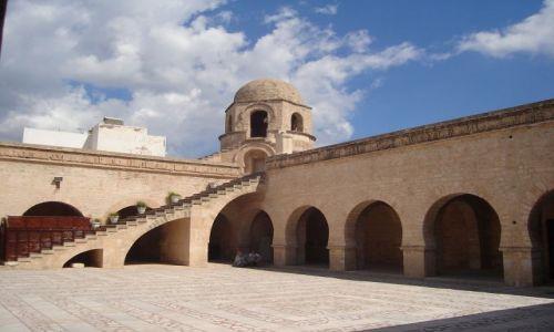 Zdjęcie TUNEZJA / Wsch. Tunezja / Sousse / Ribat - obronny klasztor.