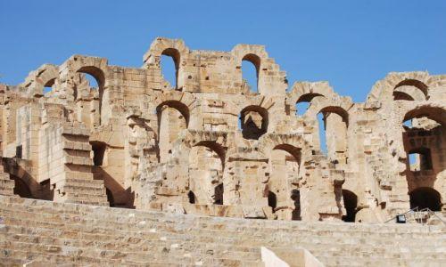 Zdjecie TUNEZJA / - / El Jam / Ruiny Koloseum