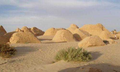 Zdjęcie TUNEZJA / Douz / Przed Saharą / Wydmy tuż przed Saharą