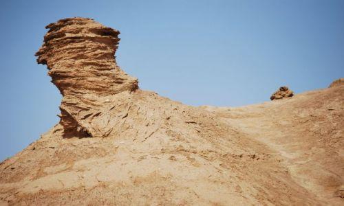 Zdjecie TUNEZJA / Sahara / Oaza Chebika / Skały pustynne