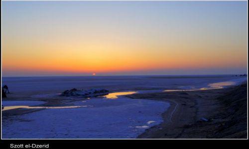 Zdjęcie TUNEZJA / Sahara / Szott el-Dzerid / Szott el-Dzerid