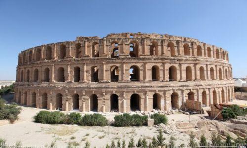Zdjecie TUNEZJA / - / El-Jem  / El-Jem Koloseum