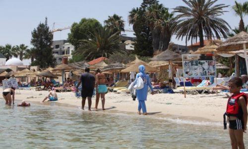 TUNEZJA / - / El Kantaoui  / Plaża w Port El Kantaoui