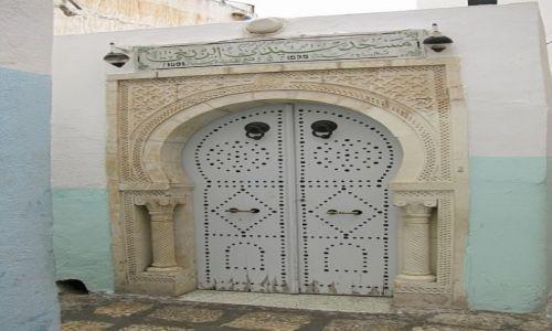 Zdjęcie TUNEZJA / . / Susa / tunezyjskie drzwi