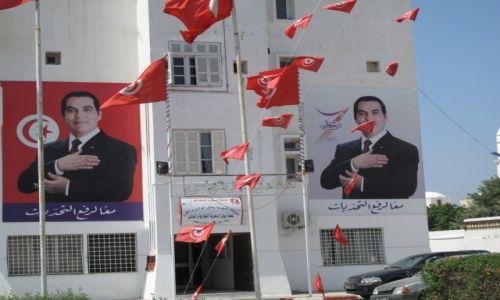 Zdjęcie TUNEZJA / Okolice Tunisu / Okolice Tunisu / Bratnia dusza wodza narodu