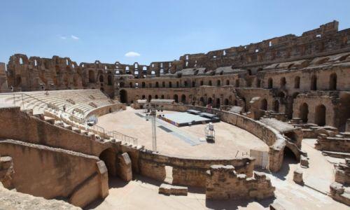 Zdjęcie TUNEZJA /  Sahel Tunezyjski / El Jem / Amfiteatr