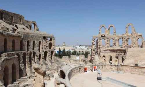 Zdjęcie TUNEZJA / Sahel Tunezyjski / El Jem / Koloseum