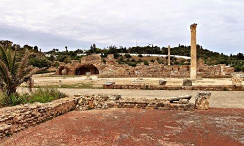 Zdjecie TUNEZJA / w północnej Afryce / Kartagina / Starożytne miasto