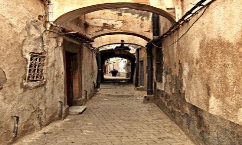 Zdjecie TUNEZJA / - / Tunis / Malownicze uliczki