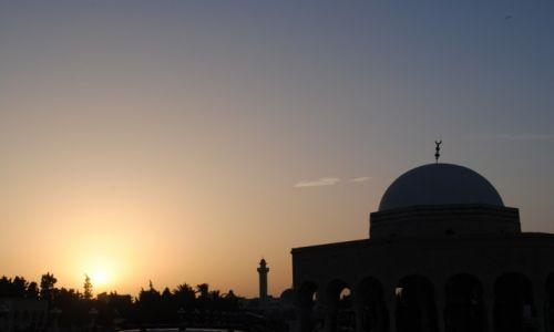 TUNEZJA / Monastir / Monastir / sunset