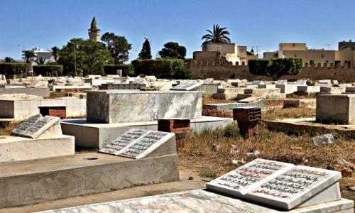 Zdjecie TUNEZJA / miasto portowe w środkowej części wschodniego wybrzeża Tunezji , / Monastyr / Cmentarz Arabski w Monastirze
