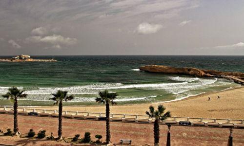Zdjęcie TUNEZJA / - / Monastir / Plaże o  złotym, drobnym piasku