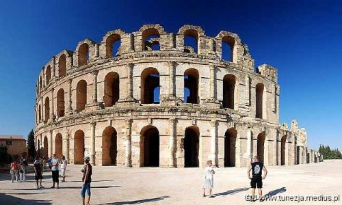 Zdjecie TUNEZJA / brak / El- Jam / El - Jam - Koloseum, szlakiem gladiatorów