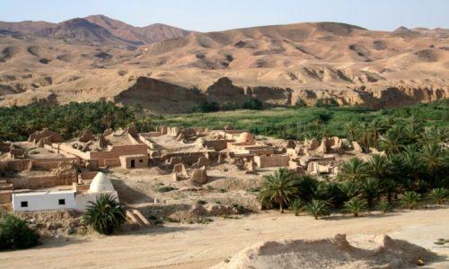 Zdjęcie TUNEZJA / Sahara / Tamerza / Zapomniana oaza