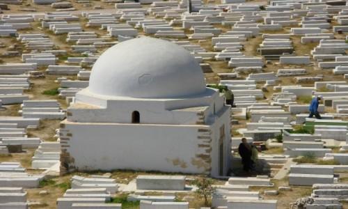 Zdjęcie TUNEZJA / wybrzeże wschodnie / Monastir / Grobowiec marabuta
