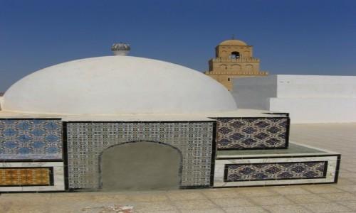 TUNEZJA / �rodkowa Tunezja / okolice Wielkiego Meczetu / Kairouan