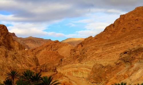 Zdjecie TUNEZJA / - / oaza Chebika / Góry Atlas