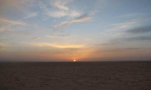 Zdjecie TUNEZJA / Wschodnia Tunezja / Szatt al-Dżarid / Wschód słońca