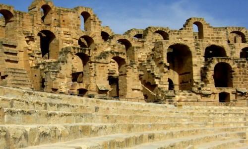 Zdjęcie TUNEZJA / Tunezja Wschodnia / El Jem / Amfiteatr El Jem