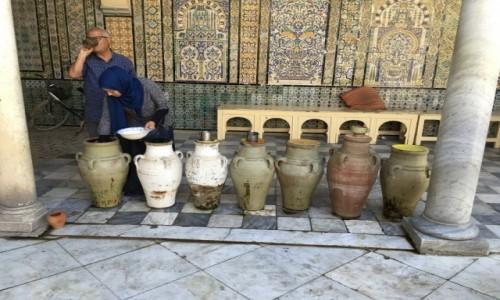 Zdjecie TUNEZJA / - / Kairouan / W Meczecie Cyrulika