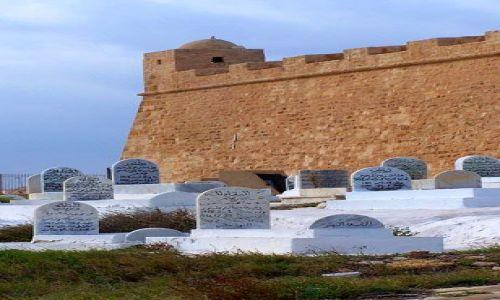 Zdjecie TUNEZJA / Mahdia / Cmentarz za murami miasta / Trochę starej Tunezji7