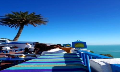 Zdjecie TUNEZJA / - / Tunis / Południowa sjesta