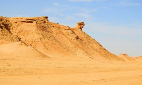 Zdjecie TUNEZJA / Tozeur / pustynia / Góra Wielbłąda