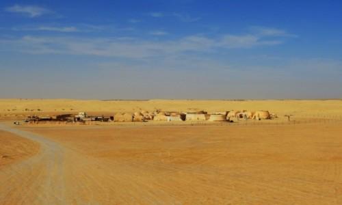 Zdjecie TUNEZJA / Tozeur / pustynia / Star Wars