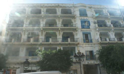 Zdjecie TUNEZJA / brak / TUNIS / Tunezyjska kamienica