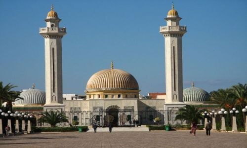 Zdjecie TUNEZJA / brak / Mauzoleum Habiba Burgiby / Monastir