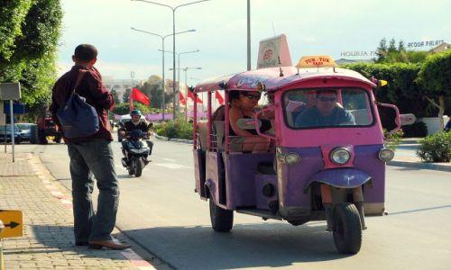 Zdjecie TUNEZJA / brak / Tuk Tuk Taxi jeździ z Sousse do Port el-Kantaoui / Jak dojechac do Port el-Kantaoui?