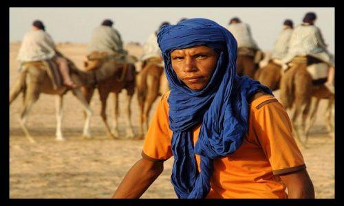 Zdjęcie TUNEZJA / Douz / w drodze na pustynię... / ..