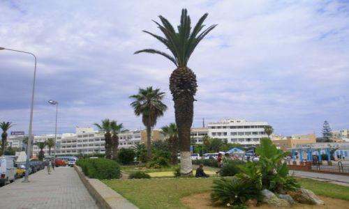 Zdjecie TUNEZJA / Sousse / Medina / Portowy deptak
