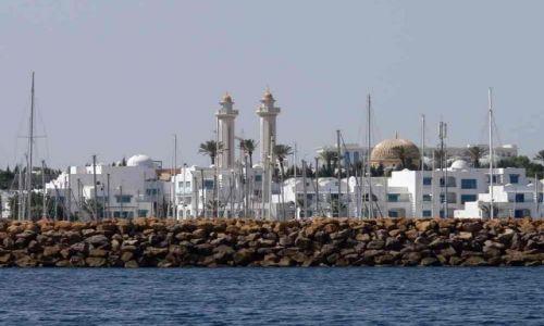 Zdjecie TUNEZJA / brak / Monastir / Widok na port el-kantawi