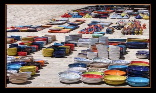 Zdjęcie TUNEZJA / Mahdia / Hotel Mahdia Palace Thalasso / skorupki
